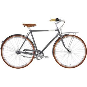 Creme Caferacer Doppio Citybike Herrer grå